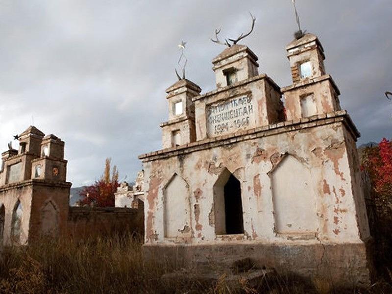 Cmentarz w Kirgistanie
