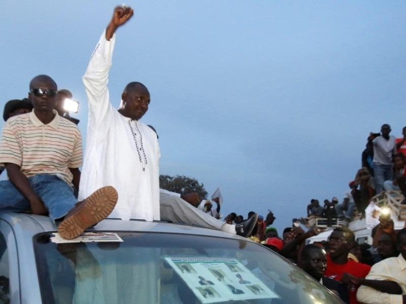 wybory prezydenckie w Gambii wygrał Adama Barrow/ Fot.Thierry Gouegnon/Reuters