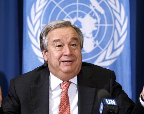 António Guterres, nowy sekretarz generalny ONZ